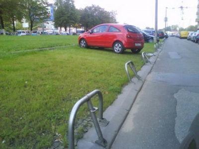 Штраф за парковку во дворе дома