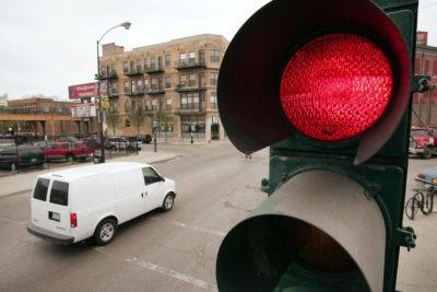 Нарушение проезд на красный свет штраф